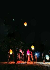 Lampion terbang