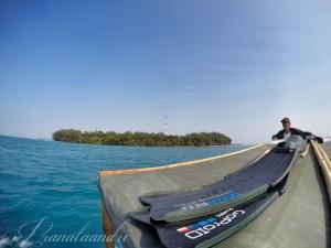 Perjalanan ke spot Pulau Matahari