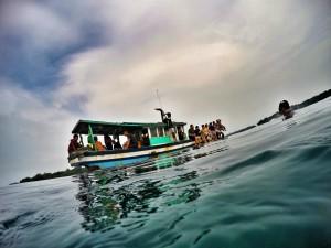 Mampir Snorkeling di seperjalanan ke Pulau Dolphin image